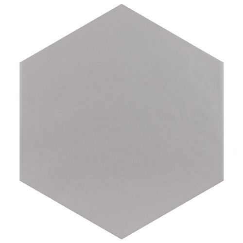 "Picture of Hexatile Matte Gris 7""x8"" Porcelain F/W Tile"