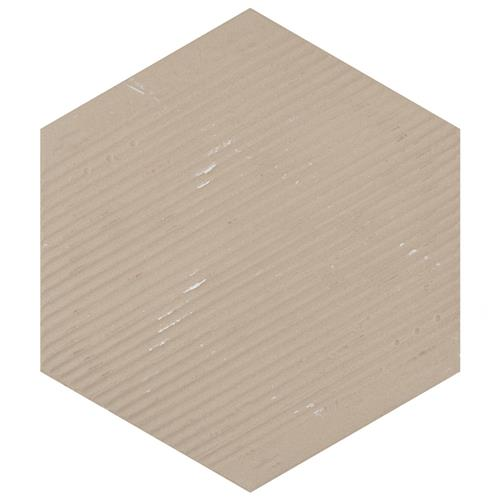 Hexagon porcelain floor tile