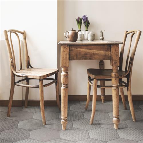 Coralstone Hex Melange Grey 10 Quot X11 1 2 Quot Porcelain F W Tile