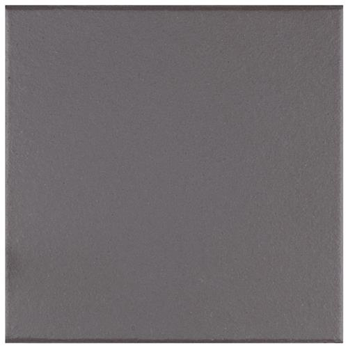 "Picture of Klinker Black 6""x6"" Ceramic F/W Quarry Tile"