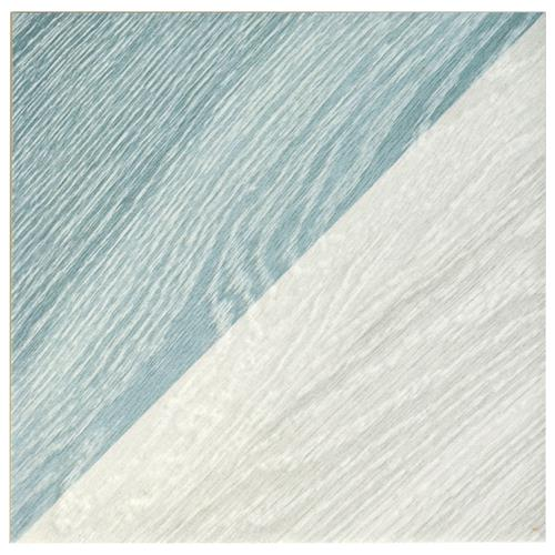 "Picture of Taco Melange Blue 6-1/2""x6-1/2"" Porcelain F/W Tile"