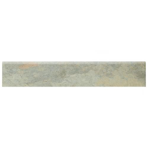 "Picture of Ardesia Gris 3-1/8""x17-1/2"" Porcelain Bullnose F/W Trim"