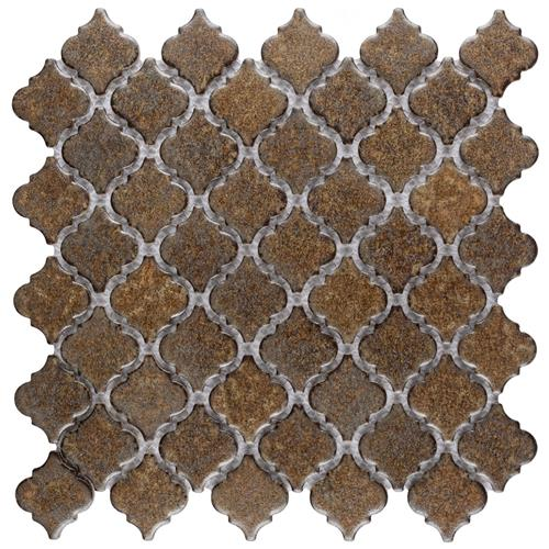"Picture of Hudson Tangier Brownstone 12-3/8""x12-1/2"" Porc Mos LTR720"