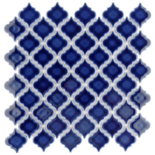 "Picture of Hudson Tangier Smoky Blue 12-3/8""x12-1/2"" Porcelain Mos"
