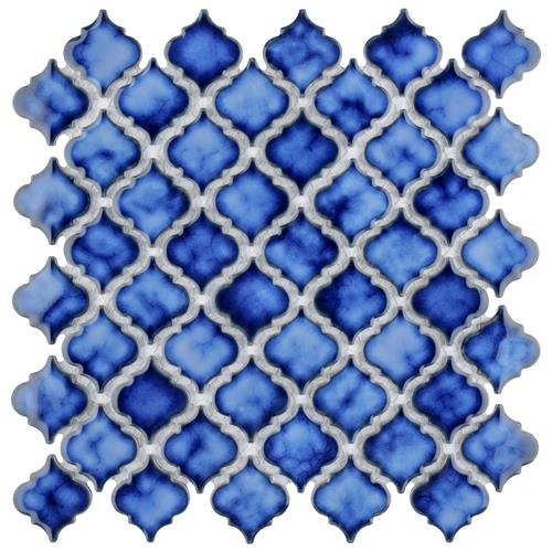 "Picture of Hudson Tangier Sapphire 12-3/8""x12-1/2"" Porcelain Mos"