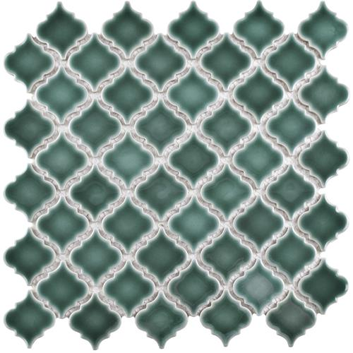 "Picture of Hudson Tangier Emerald 12-3/8""x12-1/2"" Porcelain Mos"
