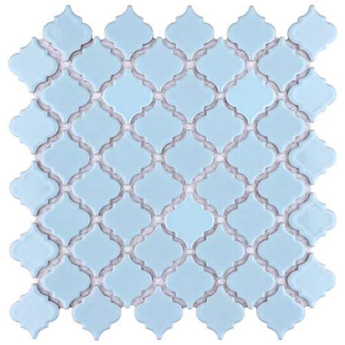 "Picture of Hudson Tangier Cashmere Blue 12-3/8""x12-1/2"" Porcelain Mos"