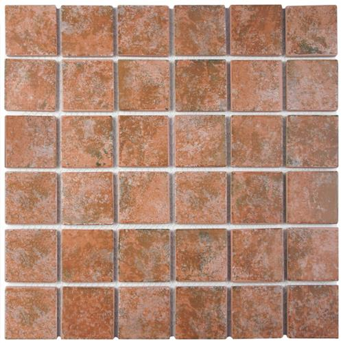 "Picture of Colorado Quad Pueblo 12-1/2""x12-1/2"" Porcelain Mos RCM821"