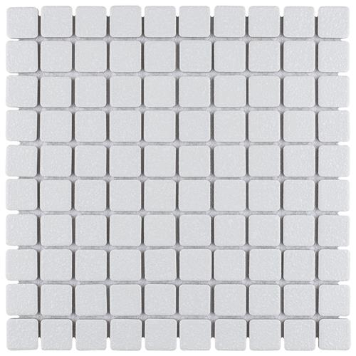 "Picture of Crystalline Square White 11-3/4""x11-3/4"" Porc Mos SRR900"