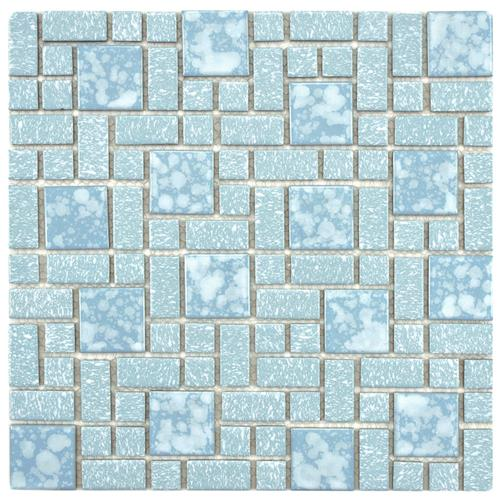 "Picture of University Blue 11-3/4""x11-3/4"" Porcelain Mos"