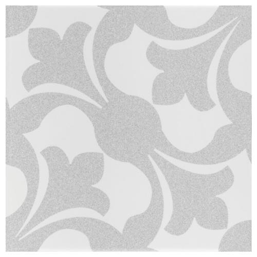 "Picture of Emotion Gris 7-3/4"" x 7-3/4"" Ceramic Floor/Wall Tile"