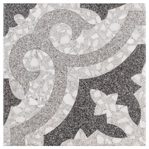"Picture of Ferra Gris 7-3/4"" x 7-3/4"" Ceramic Floor/Wall Tile"