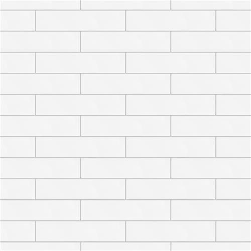 "Picture of Metro Soho Subway Matte White 1-3/4""x7-3/4"" Porc F/W Tile"