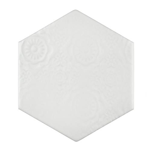 "Picture of Caprice Bianco C 4-3/8""x5"" Porcelain W Tile"