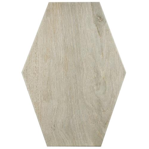 "Picture of Timber Hex Irr Tilo 8-3/8""x11-3/4"" Porcelain F/W Tile"