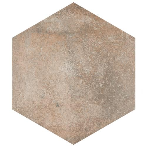 "Picture of Boston Ferro Hex Crema 14-1/8""x16-1/4"" Porcelain F/W Tile"