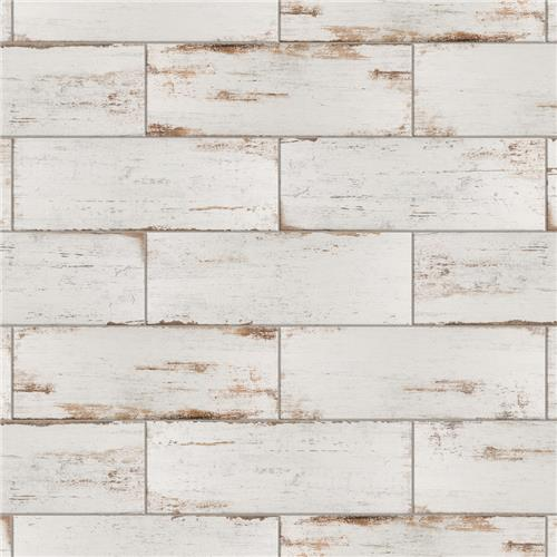 "Picture of Retro Blanc 8-1/4""x23-1/2"" Porcelain F/W Tile"