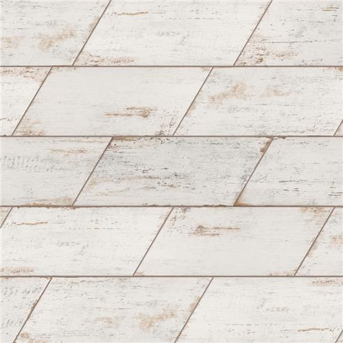 "Picture of Retro Naveta Blanc 7-1/8""x16-3/8"" Porcelain F/W Tile"
