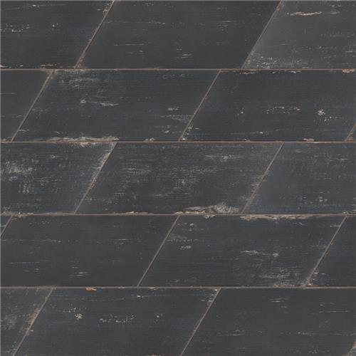 "Picture of Retro Naveta Nero 7-1/8""x16-3/8"" Porcelain F/W Tile"