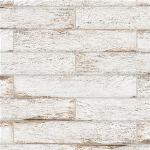 "Picture of Bora White 3-1/8""x17-1/2"" Porcelain F/W Tile"