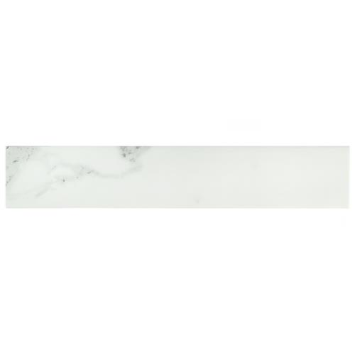"Picture of Tinos White 3-1/8""x17-3/8"" Porcelain F/W Tile"