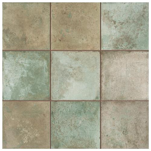 "Picture of Kings Etna Sage 13-1/8""x13-1/8"" Ceramic Floor/Wall Tile"