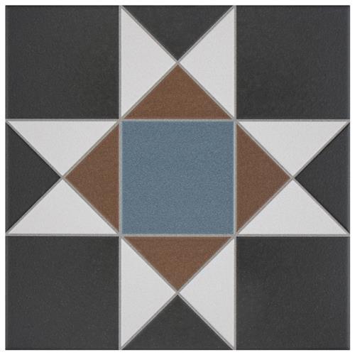 """Picture of Vanity Nouveau 13""""x13"""" Porcelain F/W Tile HV-2"""
