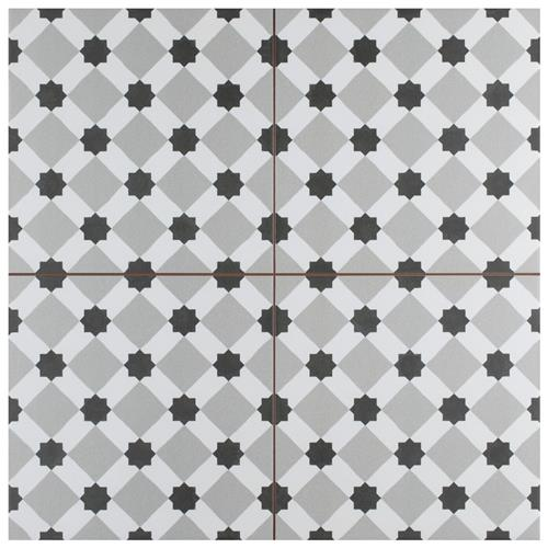 "Picture of Henley Fog 17-5/8"" x 17-5/8"" Ceramic Floor/Wall Tile"