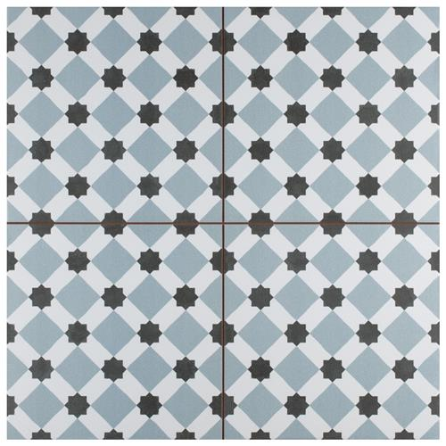 "Picture of Henley Ice 17-5/8"" x 17-5/8"" Ceramic Floor/Wall Tile"