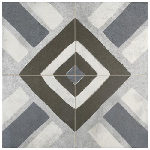 "Picture of Kings Sena Azul  17-7/8"" x 17-7/8"" Porcelain F/W Tile"