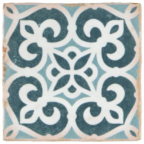 "Picture of 4-7/8""x4-7/8"" Archivo Bakula Ceramic Floor/Wall Tile"
