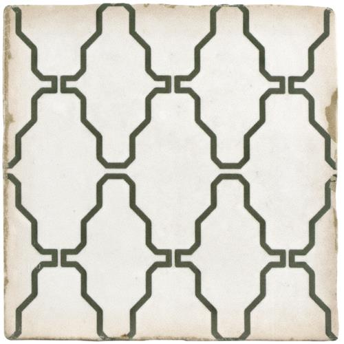 "Picture of 4-7/8""x4-7/8"" Archivo Crochet Ceramic Floor and Wall Tile"