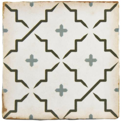 "Picture of Archivo Lattice 4-7/8""x4-7/8"" Ceramic F/W Tile"