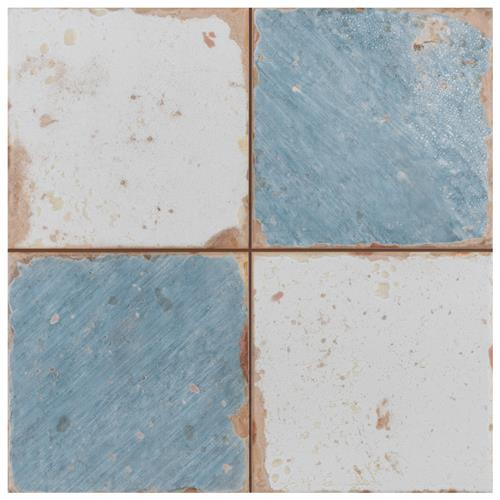 "Picture of Artisan Damero Azul FS-A 13""x13"" Ceramic F/W Tile"