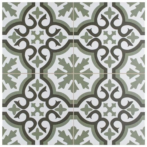 "Picture of Berkeley Essence Eden 17-3/4"" x 17-3/4"" Porcelain F/W Tile"