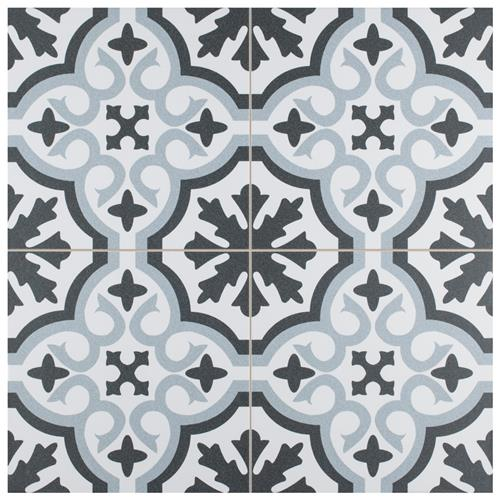 "Picture of Berkeley Essence Sky 17-3/4"" x 17-3/4"" Porcelain F/W Tile"