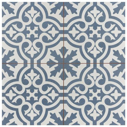 "Picture of Berkeley Blue 17-5/8""x17-5/8"" Ceramic F/W Tile"