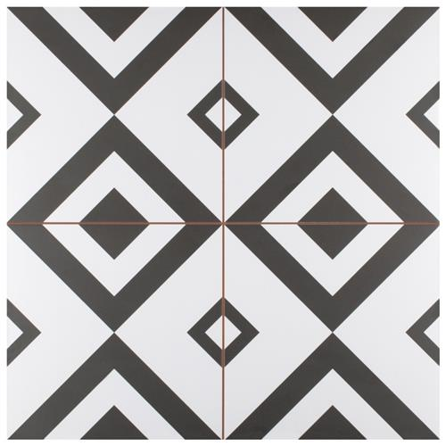 "Picture of Brixton 17-5/8""x17-5/8"" Ceramic F/W Tile"