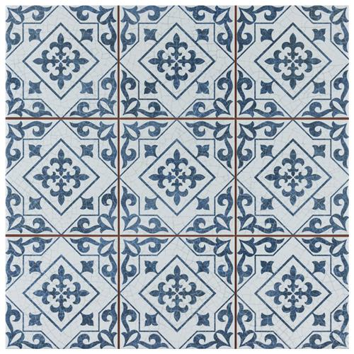 "Picture of Harmonia Atlantic Cobalt Blue 13""x13"" Ceramic F/W Tile"