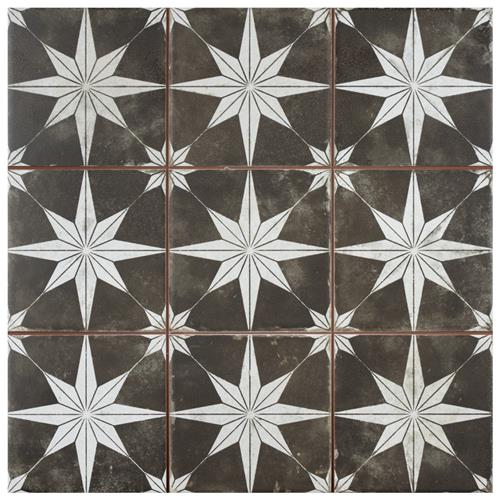 "Picture of Harmonia Kings Star Night 13""x13"" Ceramic Floor/Wall Tile"