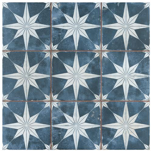 "Picture of Harmonia Kings Star Sky 13""x13"" Ceramic Floor/Wall Tile"