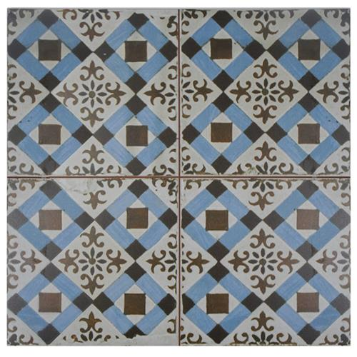 "Picture of Kings Millbasin FS-4 17-5/8""x17-5/8"" Ceramic F/W Tile"
