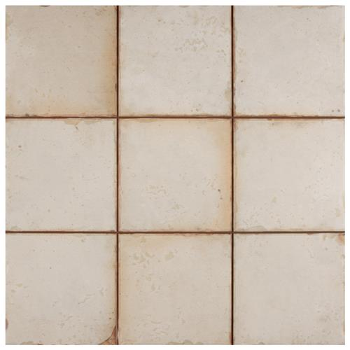 "Picture of Mirambel Blanco 13""x13"" Ceramic F/W Tile"