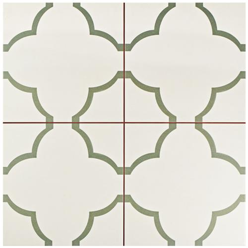 "Picture of Nuvola Olive 17-5/8""x17-5/8"" Ceramic F/W Tile"