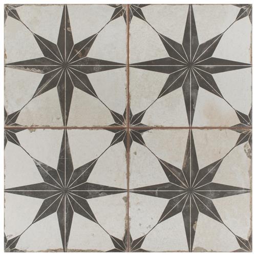 Kings Star Nero Fs N 17 5 8 Quot X17 5 8 Quot Ceramic F W Tile