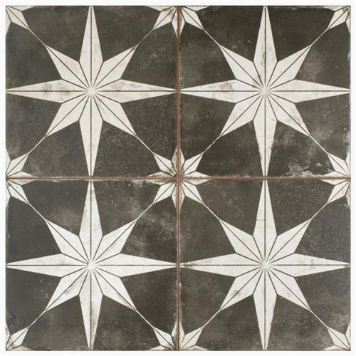 "Picture of Kings Star Night 17-5/8""x17-5/8"" Ceramic Floor/Wall Tile"
