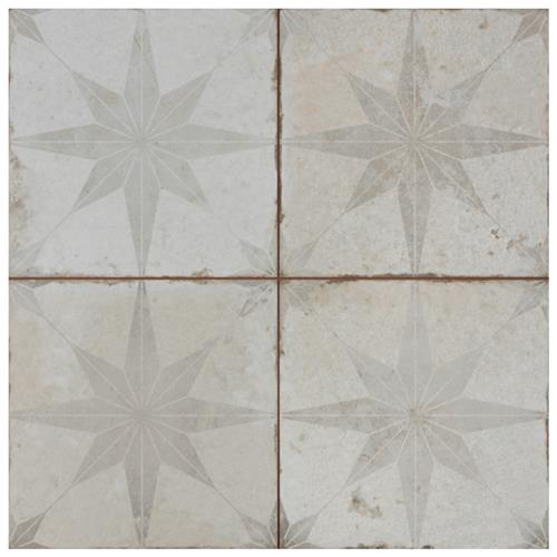 "Picture of Kings Star White 17-5/8""x17-5/8"" Ceramic Floor/Wall Tile"