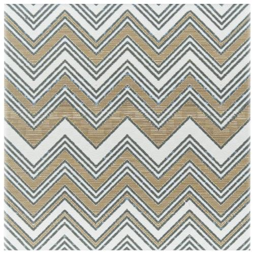 "Picture of Boheme Wave 7-3/4""x7-3/4"" Ceramic F/W Tile"