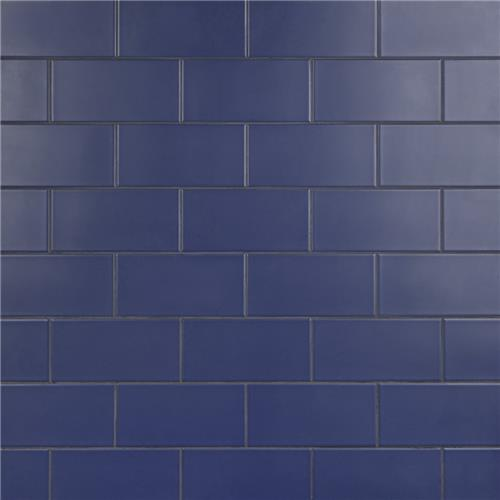 "Picture of Projectos Azul Matte 3-7/8"" x 7-3/4"" Ceramic F/W Tile"