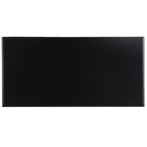 "Picture of Projectos Preto Matte 3-7/8""x7-3/4"" Ceramic F/W Tile"